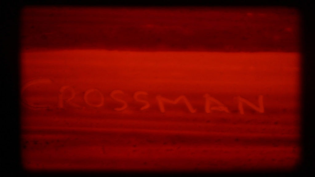 CROSSMAN experimental found footage super 8 pellicola film old school coloured hand violence video Francesco De Luca artist videomaker italian short cortometraggio director independent red colors young italiano filmaker regista artista giovane