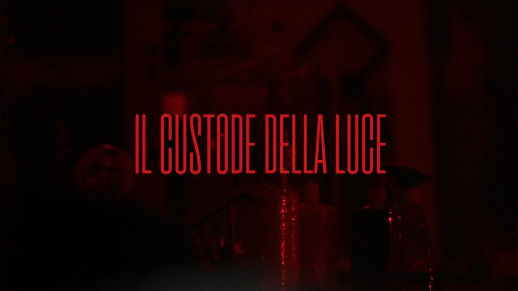 Il custode della luce Francesco De Luca artist red videomaker italian short cortometraggio director independent young italiano filmaker regista artista giovane