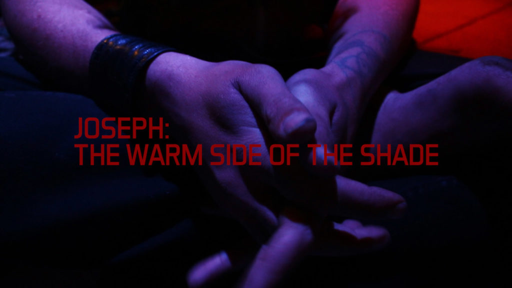 JOSEPH: THE WARM SIDE OF THE SHADE homeless San Francisco social issue vagabond film festival official selection AHITH Francesco De Luca artist videomaker italian short cortometraggio director independent young red italiano filmmaker regista artista giovane